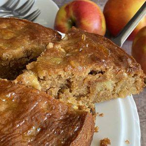 کیک سیب کیک نت