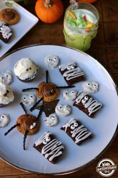 ایده های ساده برای خوراکی های هالووین