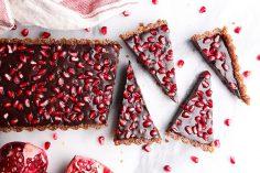 تارت انار به عنوان شیرینی یلدا