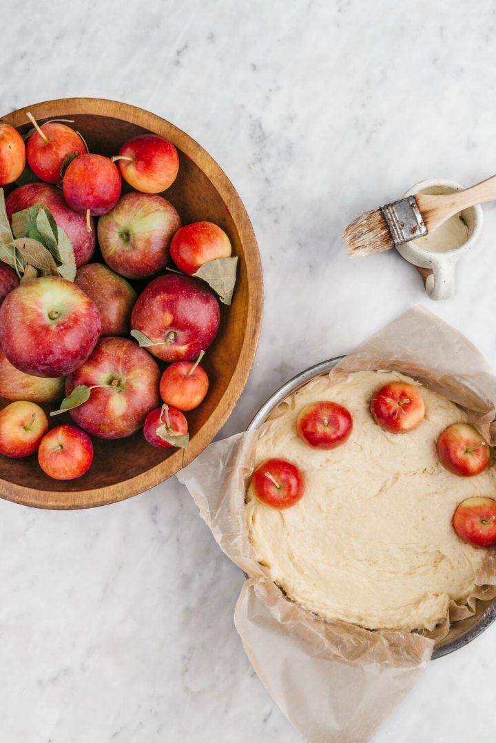 کیک سیب ایتالیایی