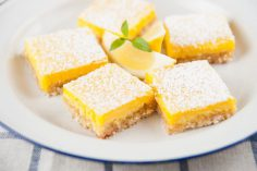 شیرینی بار لیمویی