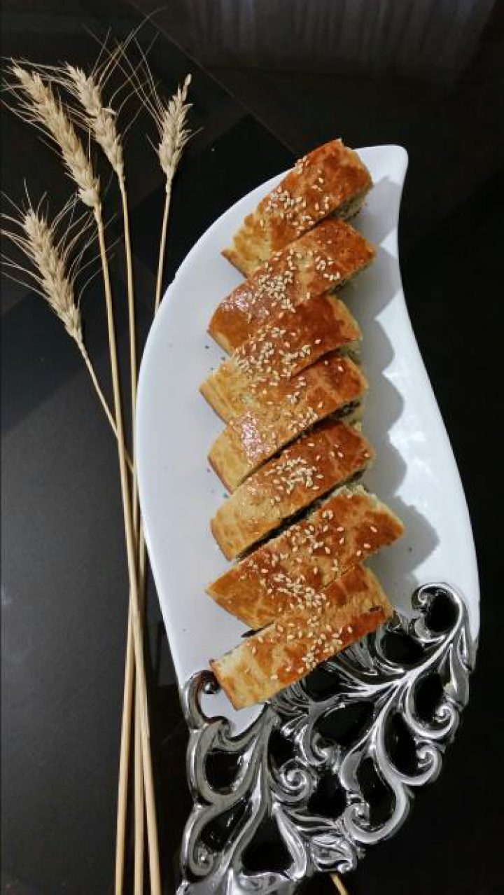 شیرینی رولت گردویی (ترکیه ای)