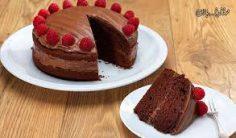 کیک شکلاتی کافی شاپی