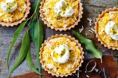 مینی تارت نارگیل آناناس
